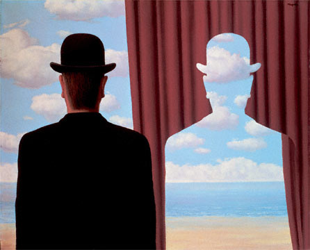 Magritte Decalcomania