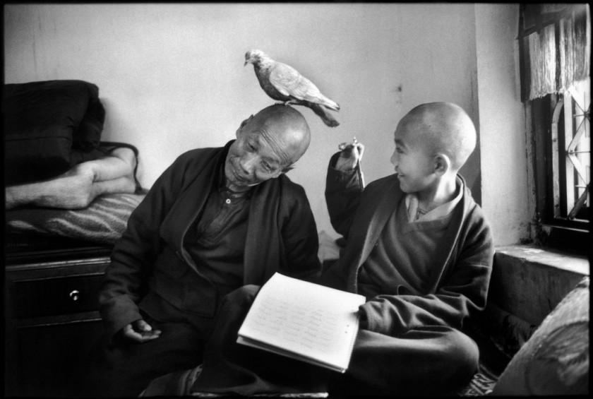 Martine Franck monks