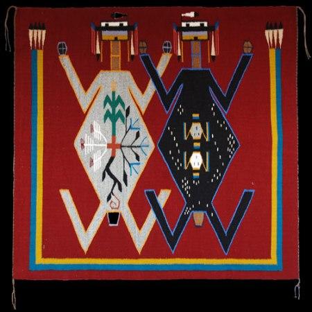 (Sand Painting Navajo Rug)