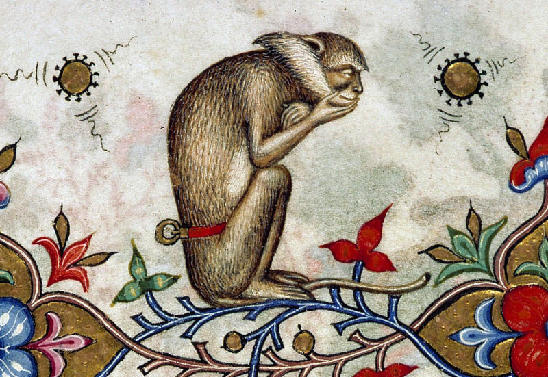The Thinker Monkey, Breviary of Mary of Savoy