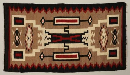 Navajo Sand Painting can be seen as a nexus of maps and territories.