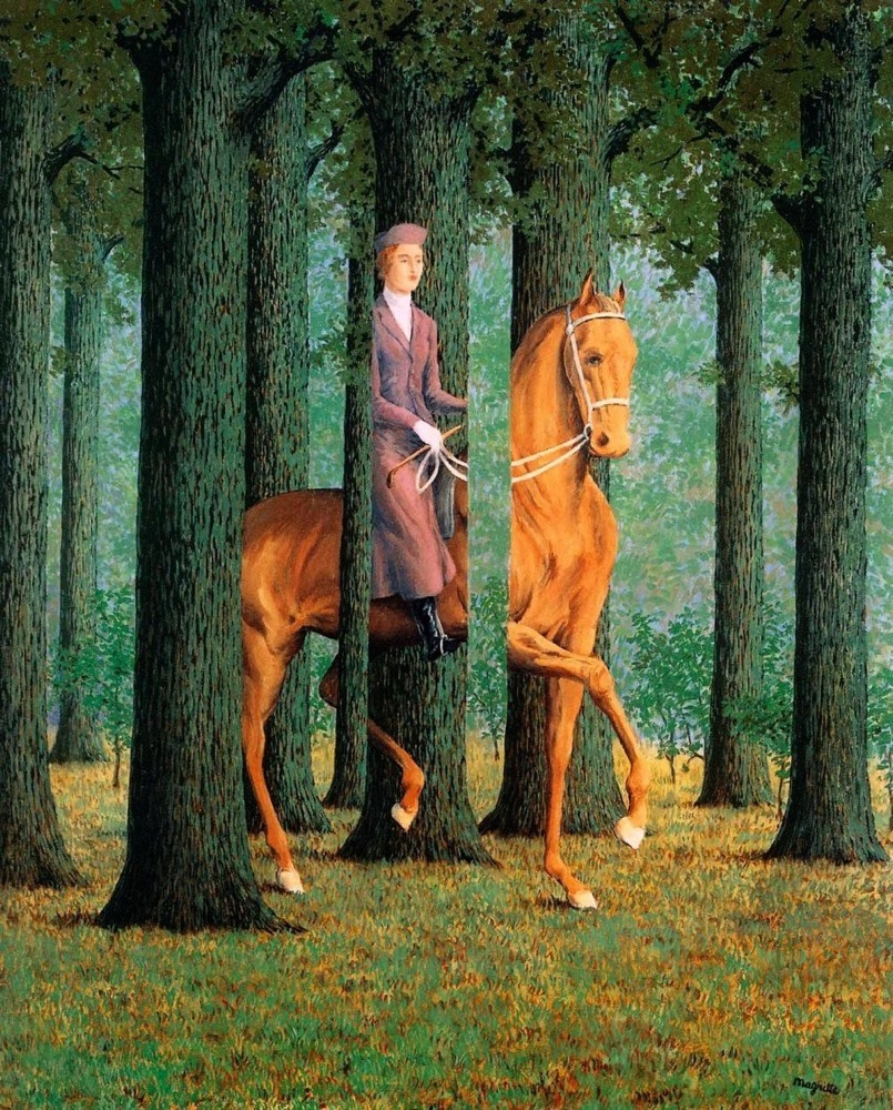 magritte_cavalier